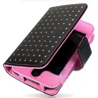 Wholesale Flip Style Fashionable Leather Mobile Phone Pouches For iPhone 5 from china suppliers