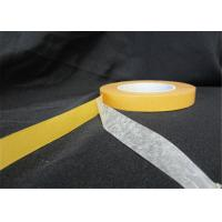 Wholesale Low Tack Double Sided Tissue Tape Solvent Base Glue For Clothing Fabric from china suppliers