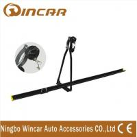 Wholesale Universal iron car Roof Bike Carrier , Professional roof mount bike rack with key from china suppliers
