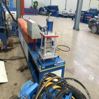 Buy cheap 0.8mm Thickness Shutter Door Roll Forming Machine With Servo Feeding from wholesalers