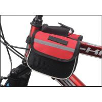 Wholesale Outdoor Cycling Mountain Bike Bicycle Saddle Bag Back Seat Tail Pouch Package Black/Red from china suppliers