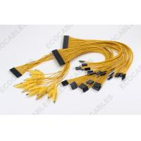 Wholesale 3A Yellow Alligator Clip Battery Cable Harness With 40P Connector from china suppliers