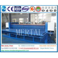 Buy cheap MCLBWB-0.5*5000 Corrugated plate bending machine,mechanical driven,Nantong plate rolling machine from wholesalers