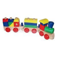 Buy cheap Stacking Train, train sets, wood train from wholesalers