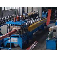 Wholesale Press Step Metal Roof Forming Machine , Arch Sheet Roll Forming Machine 0.4-0.6mm from china suppliers