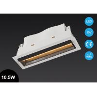 Buy cheap Unique10.5W Rectangular COB LED Recessed Downlight linear Light Laser blade Aluminum Alloy from wholesalers
