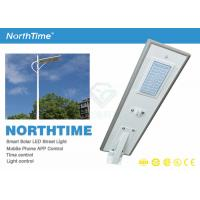 Wholesale Aluminum Alloy Highly Humens Solar Light IP65 Cool White LED Street Light from china suppliers