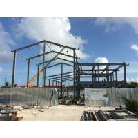 Wholesale H beam Q235B Steel Building Steel Frame Fabrication For Gymnasium from china suppliers