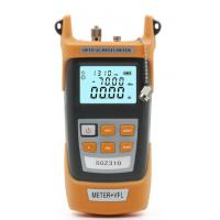 Wholesale Fiber Optic Power meter with 10km Laser source Visual Fault locator Meter + VFL from china suppliers