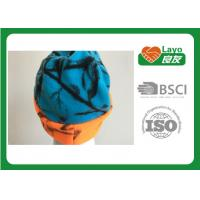 Wholesale Osfa Outdoor Winter Fleece Hats For Women / Men Blaze Orange Blue Color from china suppliers