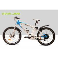 Wholesale EU 6 Speed Electric Mountain Bikes 250W 36V 55Km - 65Km Drive Distance from china suppliers