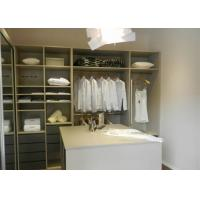 Wholesale Italian Design Bedroom Walk In Closet Organizers With Soft Closing Drawers from china suppliers