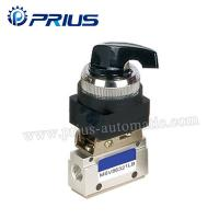Wholesale 3 Way 2 Position Pneumatic Valve MSV86321PB , Round Green Button Mechanical Air Valve from china suppliers