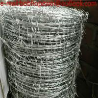 Buy cheap Galvanized safety barbed wire/galvanized decorative barbed wire fencing/barbed wire/low price barbed wire roll fence from wholesalers