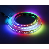 Wholesale Full Color 256 Brightness Flexible Led Light Strips Built - In IC 72 /96 / 144 Leds / M from china suppliers