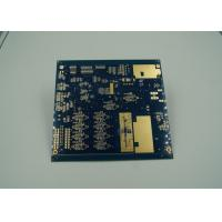 Wholesale Blue Thick Gold Multilayer PCB Board UL 94 V 0 Flamibility Grade Tg 170 from china suppliers