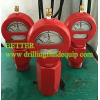 "Wholesale BETTER Type D Mud Pressure Gauge Equal OTECO Model 7 End Connection 2""LPT/NPT Standard Walt Water Sour Gas from china suppliers"