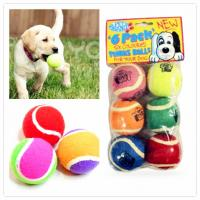 Eco-friendly rubber toy ball for pet playing