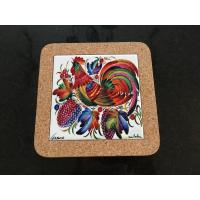 Wholesale 20*20xm Cork Trivet, Ceramic Trivet with Cork Based, Customized Size from china suppliers