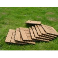 Quality Waterproof Solid WPC Decking / Hollow WPC Decking / WPC Wood Board for sale
