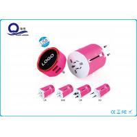 Quality All In One Adapter 5V 2A USB Power Adapter With LED Light Logo Quick Charge for sale