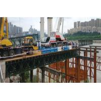 Wholesale Military Use Floating Pontoon Bridge Bailey System Modular Steel Bridges from china suppliers