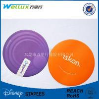 Wholesale Soft PVC Personalized Pub / Bar Coasters For Gift Colorful Silk Screen Printing from china suppliers