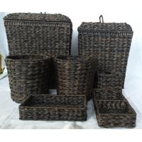 Wholesale Rattan Laundry baskets for hotel use from china suppliers