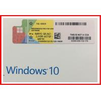 Wholesale Win10 pro Genuine OEM Key 32bit 64bit win 10 professional COA key sticker from china suppliers