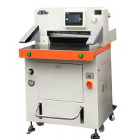 Wholesale DB-520V8 Programmed Hydraulic Paper Cutting Machine 520mm With Touch Screen from china suppliers
