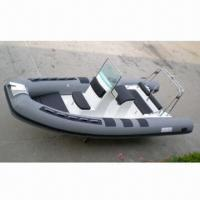 Buy cheap PVC/Hypalon Rib Inflatable Boat, OEM Services are Welcome, CE Certified from wholesalers