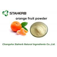 Wholesale Freeze Dried Fruit Powder / Orange Fruit Powder Fit Beverage And Food from china suppliers