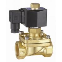 Quality 2 Inch Semi Direct Acting Brass Water Solenoid Valve Normally Open 24VDC for sale