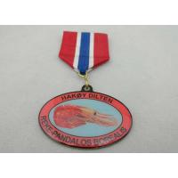 Wholesale Iron / Brass / Copper / Zinc Alloy 2D or 3D Offset Printing Medal for Souvenir Gift from china suppliers