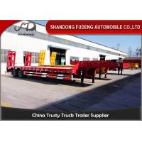 Wholesale 2 Axles 30 Ton Low Load Trailer Spring Suspension With Spring Ladder from china suppliers