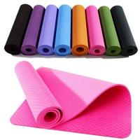 Wholesale Durable Elegant Foldable PVC Gymnastic Floor Mats For Yoga / Pilate from china suppliers