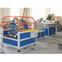 Wholesale 6mm-16mm Plastic Extrusion Machinery , PVC Braided Hose Making Machine from china suppliers