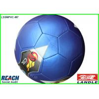 Wholesale Standard Colorful Weight Soccer Balls / Blue Regulation Size Football from china suppliers