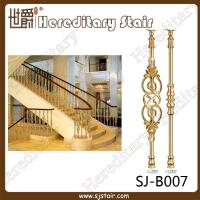 Quality Grand Casting Aluminum Balustrade for House (SJ-B007) for sale