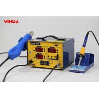 Wholesale High Precision 2 In 1 Soldering Station Electronic PCB Soldering Rework Station YIHUA 882D from china suppliers
