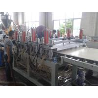 Wholesale 1220mm WPC crust foam board extrusion line from china suppliers