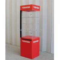 Wholesale Floor Standing Led Lighted Acrylic Display Case For Electronic Products Advertising from china suppliers