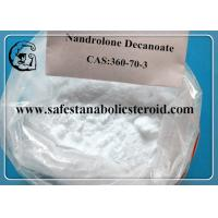 Wholesale Raw Testosterone Powder Muscle Building Steroids Nandrolone Decanoate Steroids CAS 360-70-3 from china suppliers