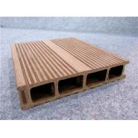 Wholesale UPVC Composite Vinyl Decking Hollow WPC Decks For Outside Decor from china suppliers
