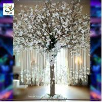 Wholesale UVG Memory artificial wishing tree with white magnolia flower for Christmas decoration from china suppliers