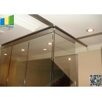 Wholesale Folding Interior Demountable Glass Door Partition from china suppliers