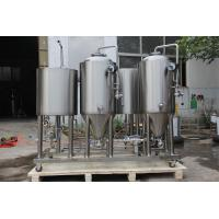 Wholesale 100L micro brewery equipment for home beer brewing with full set of brewing systems from china suppliers