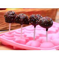 Wholesale DIY Baking Silicone Candy Molds / Pink Silicone Chocolate Mold from china suppliers