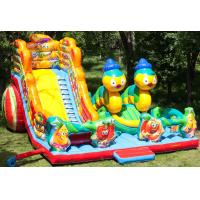 Wholesale Lovely Inflatable Bug Funcity With Slide, Inflatable Funland For Kids from china suppliers