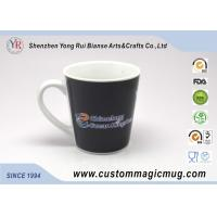 Wholesale Ceramic Porcelain Heat Sensitive Magic Mug That Change Color , V shape from china suppliers